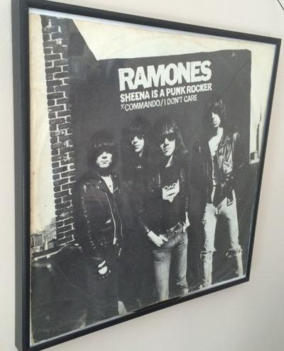 The Ramones on my wall