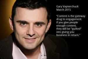 Content is the gateway drug to engagement.