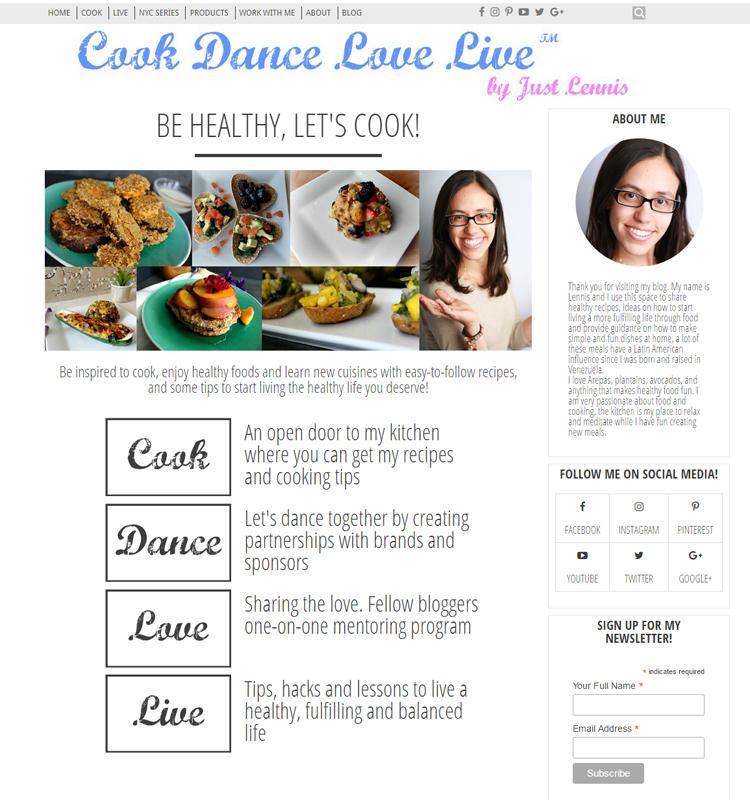 Cook Dance Love Live